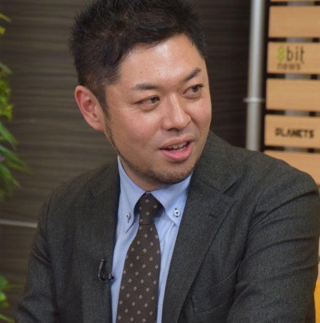 竹下隆一郎氏。ハフポスト日本版編集長。朝日新聞経済部や新規事業開発を担う「メディアラボ」などをへて現職