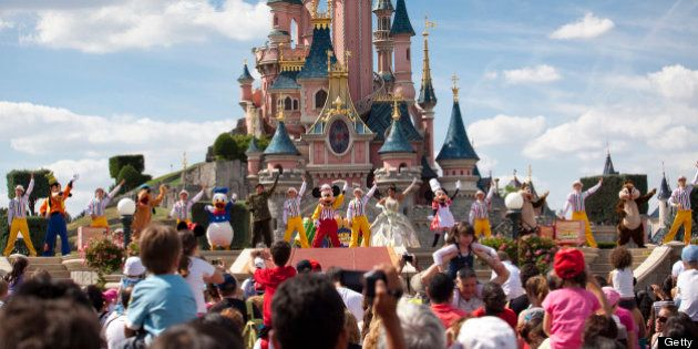 Disneyland Paris, Ile-de-France, France,