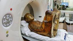 即身仏? 仏像内に隠された僧侶のミイラ、スキャンで明らかに(画像)