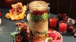 クリスマスにもおすすめ、食材を容器に詰める「ジャーサラダ」がヒット目前