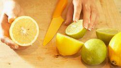 ポイントは「包丁を縦に入れないこと」、絞りやすいレモンの切り方