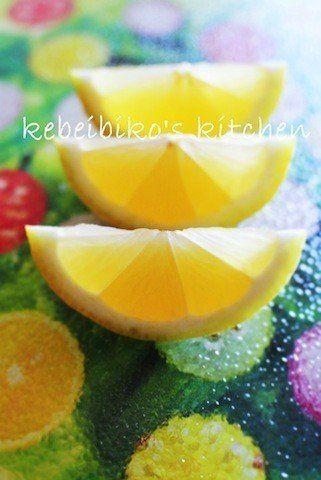 旬の柑橘類は「エックス」に切る!?画期的なレモンの切り方