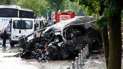 トルコ・イスタンブール中心部で爆発、11人死亡 警察車両が狙われる(現場写真)