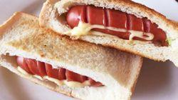 食パン一枚で作れる「ソーセージポケットサンド」が食べやすい