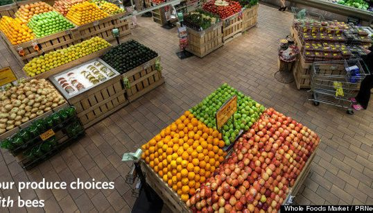 もしハチがいなければ、スーパーマーケットは消えるのか(画像)