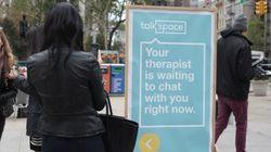 セラピストとのコミュニケーションツール「Talkspace」