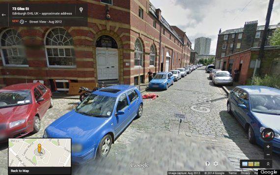 Googleストリートビューに殺人現場が映り込んだ?(画像)