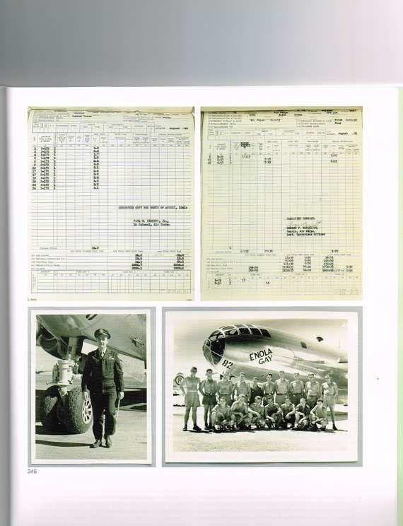 B-29爆撃機「エノラ・ゲイ」の飛行記録など、第二次大戦の資料がオークションに
