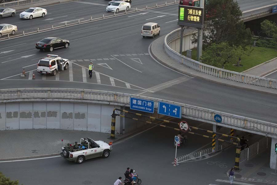 たった一人の男が戦車を止めた交差点はいまーー天安門の25年【画像】