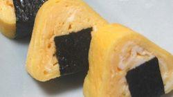 【簡単ひと手間】いつもの卵焼きを、おにぎり型でかわいく。