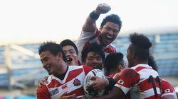 ラグビー日本が「ワールドカップ最高の瞬間」