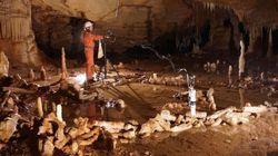 ネアンデルタール人が作った古代の石筍サークル