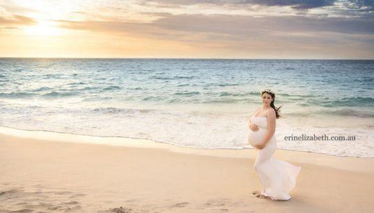 5つ子の妊婦。その美しさに、ただ目を奪われる(画像)