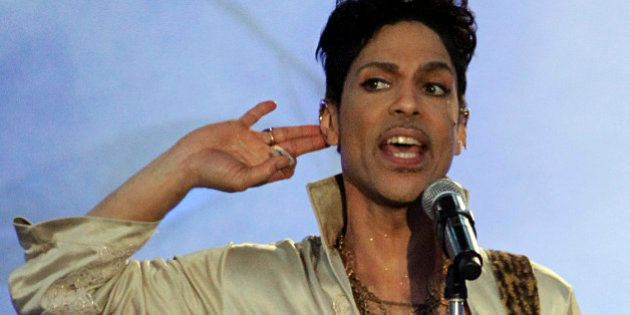 U.S. musician Prince performs at the Hop Farm Festival near Paddock Wood, southern England July 3, 2011....