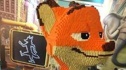 「ズートピア」等身大レゴ、3日間かけて作ったのに1時間で破壊。作者は......