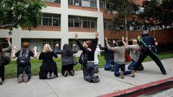 UCLAで発砲事件、男性が教授を射殺して自殺 緊迫の現場写真