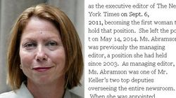 NYタイムズ初の女性編集トップはなぜ〝クビ〟になったのか