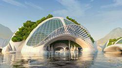 未来の都市は海に浮かぶ?