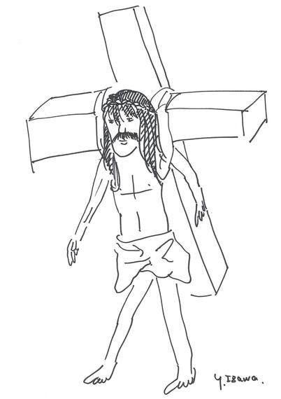 東京マラソン2015、キリスト出走せず。