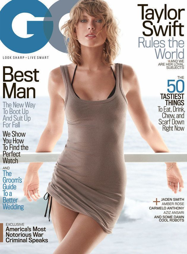 テイラー・スウィフト、初めて男性誌「GQ」の表紙を飾る 謎に包まれた部分は......