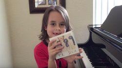 テイラー・スウィフト本人も感激、自閉症の男の子がピアノメドレー(動画)