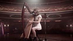 テイラー・スウィフトの曲を、ハープ奏者がカバーしたらとっても素敵(動画)
