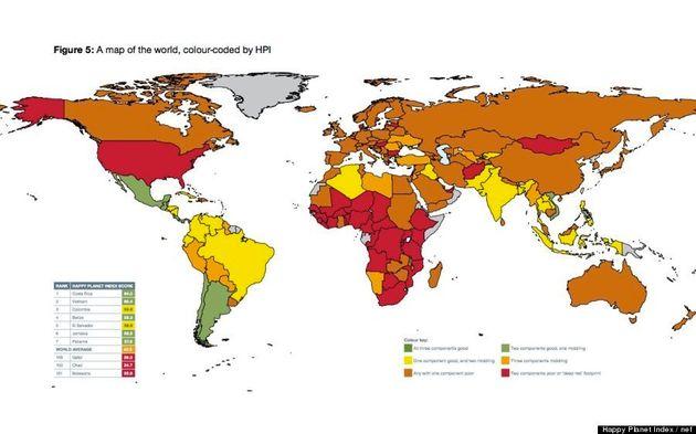 「世界で最も幸せに暮らせる国」ランキング、1位は意外にも中南米の...(調査結果)