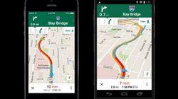 Googleマップがメジャー・アップデート―乗換案内、ナビ情報が強化され、Uberを統合