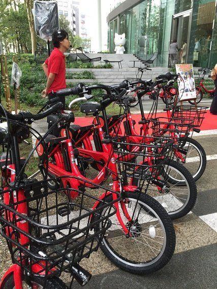 自転車シェアリング、都内4区での利用が可能へ!