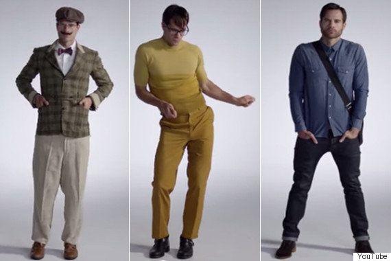 男性のファッションは100年でこんなに変わった(動画)