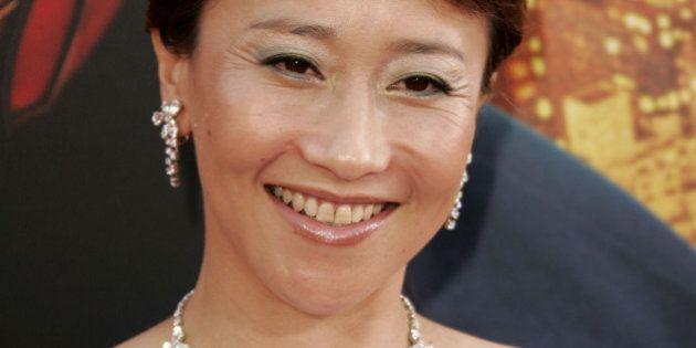 Akemi Matsuno during 'Spider-Man 2' Los Angeles Premiere - Arrivals at Mann Village in Westwood, California,...