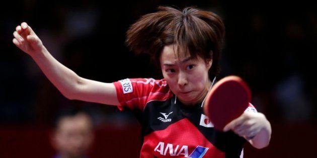 世界卓球で中国が連覇、日本女子は43年ぶりの優勝ならず