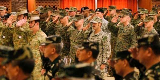 アメリカ・フィリピン合同軍事演習 中国の海洋進出を念頭に海洋警備に重点