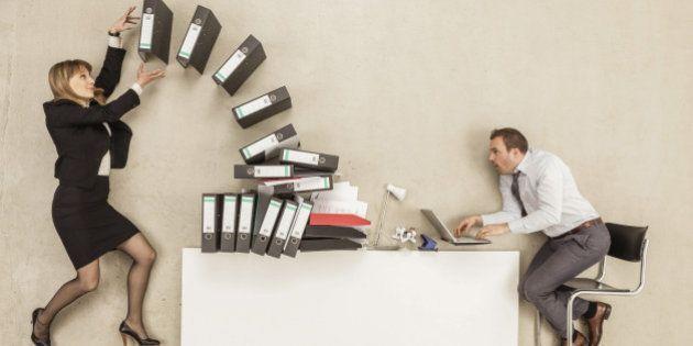 「仕事が忙しい」から「他の事をできない」というのは論理的に正しくない
