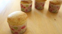 ホットケーキミックスとアイスだけでカップケーキができた!