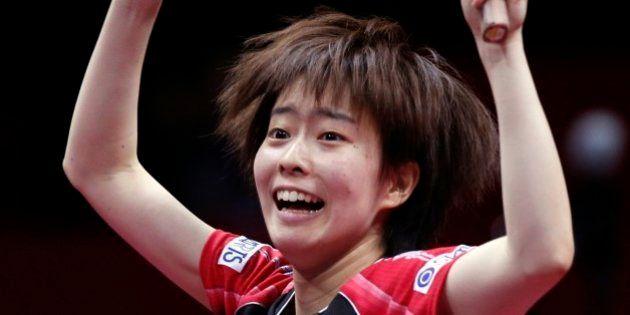 世界卓球、日本女子が31年ぶりの決勝進出 男子は銅メダル