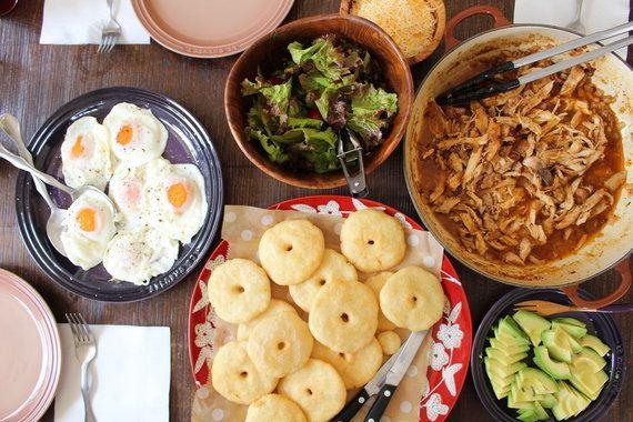 ベネズエラの伝統的な家庭料理