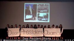 「ディア、プレジデント」オバマ大統領へのメッセージを広島女学院生徒が発信(動画)
