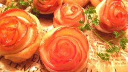 「作り方はびっくりするほど簡単」美しすぎる薔薇のアップルパイ