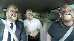 全米が爆笑した「チューバッカママ」、スター・ウォーズの監督と笑い転げる(動画)