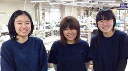 後継者不足の中、新卒3名入社した熊本のワイシャツ工場