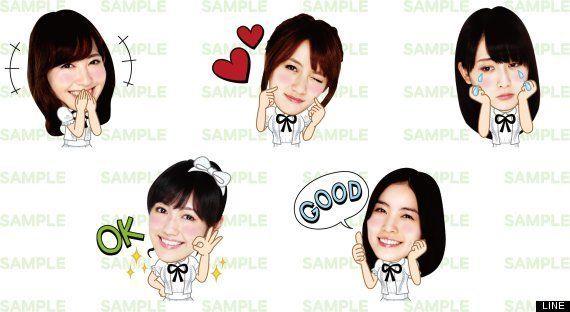 AKB48がLINEのスタンプに たかみな「秋元さんはめっちゃスタンプ持ってる」