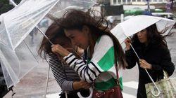 太平洋側で記録的な雨の恐れ