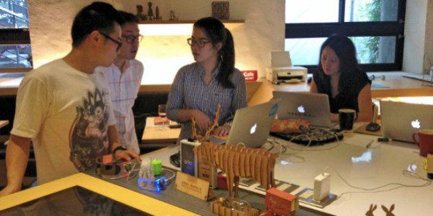 台湾で人気を集める、ものづくり空間やスマホアプリ