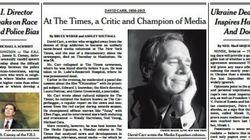 コカイン中毒、がん...メディア激変を伝えたNYタイムズ名コラムニストの急死