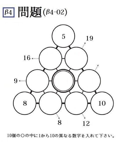 三角パズルに挑戦! 第28回(2015年第6回)