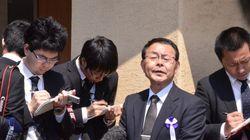 福知山線脱線事故から9年、現場マンションで追悼の警笛【動画】