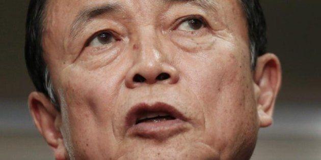 麻生太郎財務相、TPP「オバマにまとめる力ない」 交渉は合意に至らず