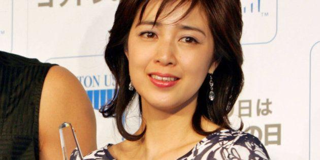 Japanese actress Masami Nagasawa, former baseball player Tsuyoshi Shinjo, and Japanese actress Momoko...