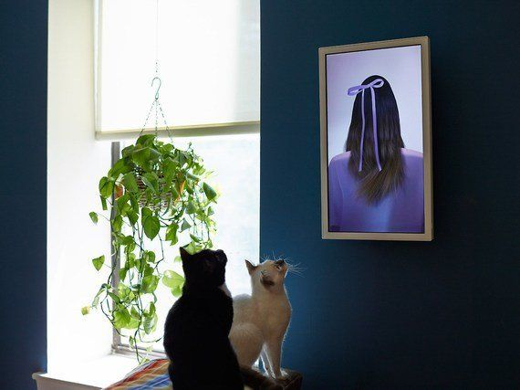 オシャレ。お部屋にネット上のアートを飾れる額縁